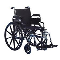 This is a photo of a wheelchair